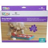 Petstages - Dog Brick Puzzle Stimulate Mind & Senses Level 2 - Blue
