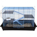 Ware Mfg. - Critter Ware Mess Resistant Cage - Blue - 35 Inch