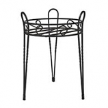 Panacea  - Canterbury Plant Stand-Black-15 Inch