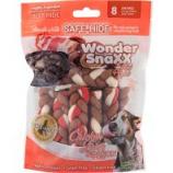 Healthy Chews - Wonder Snaxx Mini Braids - Chicken Liver/B - 8 Count