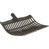 Kinder Farm - Forever Fork Head Only-Black-16X16X6