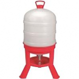 Miller Mfg - Waterer Dome - Red - 10 Gal