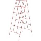 Panacea  - A Frame Trellis-Red-46X18