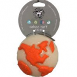 Planet Dog - Usa Globe Ball Floating Orbee Dog Toy - Mint - 4 Inch