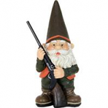 Exhart - Hunting Gnome Figurine - 13 INCH