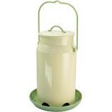 Woodstream Wildbird - Perky Milk Pail Hopper Feeder - White - 5 lb