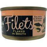 Redbarn Pet Products-Food - Cat Filet Canned Cat Food - Salmon/Shrimp - 2.8 Oz