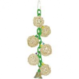 A&E Cage Company - HB Six Vine Balls On Chain with Bell - Green