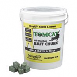 Motomco - Tomcat All-Weather Bait Chunx Rat And Mouse Killer-1 Ounce/18 Lb