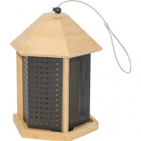 Woodstream Wildbird - Perky Pet Bamboo Trio Bird Feeder - Natural - 3  Lb