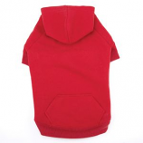 Casual Canine - Basic Hoodie - Large - Red