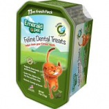 Emerald Pet Products - Cat Dental Treat Tub - Catnip - 11 Oz