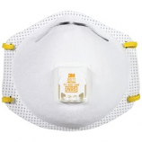 3M - Particulate Respirator Face Mask With Valve - 10 Pack