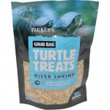Flukers - Grub Bag Turtle Treat - Shrimp - 6 Oz