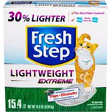 Clorox Petcare Products - Fresh Step Lightweight Extreme Cat Litter - Scented-15.4 Pound