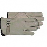 Boss Manufacturing  - Quality Grade Grain Cowhide Leather Driver Glove - Gray - Large