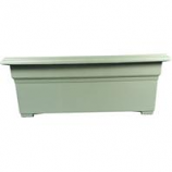 Novelty Mfg -Countryside Patio Planter-Sage-27 Inch