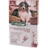 F.C.E. - Advantage Ii Dog Red - 21-55 Lb/4 Pack