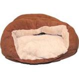 Ethical Fashion-Seasonal - Sleep Zone Cuddle Cave-Chocolate-22 Inch