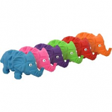 Multipet International - Origami  Elephant Latex Toy - Assorted - 8 Inch