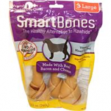 Petmatrix - Smartbones-Bacon & Cheese-Large 3Pk