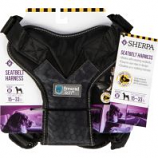 Quaker Pet Group - Sherpa Seatbelt Safety Harness Crash Tested - Black - Medium