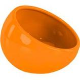 Ware Mfg. - Eye Bowl Ceramic - Orange - Large