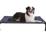 K&H Pet Products - Creative Solutions Elevated Pet Bed - Blue - 30Inx42In/Large
