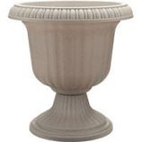 Southern Patio - Dynamic Design Ambassador Collection Utopian Urn - Stone - 14 Inch