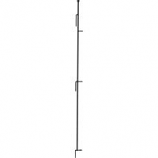 Panacea Products - Multi-Purpose Grid Fence Latch Post Stake - Black - 48 Inch