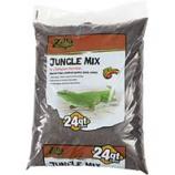Zilla - Jungle Mix Reptile Bedding-Brown-24 Quart