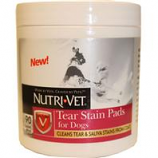 Nutri-Vet Wellness - Nutri-Vet Tear Stain Pads For Dogs - 90Ct