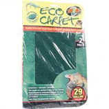 Zoo Med - Eco Carpet Reptile Terrarium Liner -  Green / Brown 29 Gal / 2 Pack