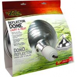 Zilla - Reflector Dome Light And Heat - Silver - 8.5 Inch