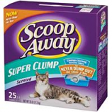 Clorox Petcare Products - Scoop Away Super Clump Cat Litter - Scented - 25 Pound