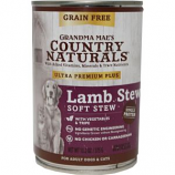 Grandma Maes Country Natural - Grain Free Non-GMO Canned Dog Food - 13.2 oz