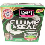 Church & Dwight Co Inc - A&H Clump & Seal Microguard Odor Sealing Litter - 14 Pound