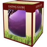 Alpine Corporation - Glass Gazing Globe-Purple-10 Inch