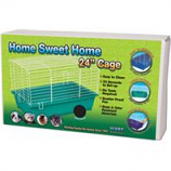 Ware Mfg- Bird/Sm An - Home Sweet Home Cage-Assorted-24 Inch