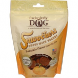 Exclusively Pet - Smoochers Drops With Yogurt - Pumpkin - 7 Oz