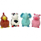Multipet International - Pot Belly Latex Buddies - Asst - 5.5 Inch